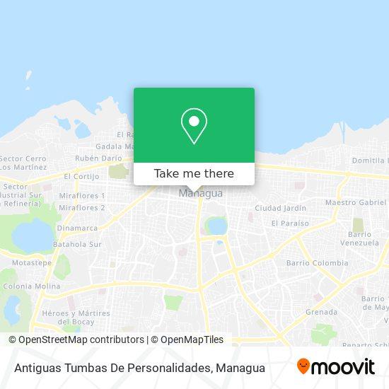 Antiguas Tumbas De Personalidades map