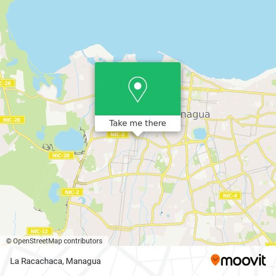 La Racachaca map
