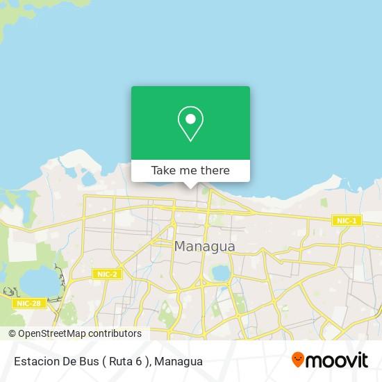 Estacion De Bus ( Ruta 6 ) map