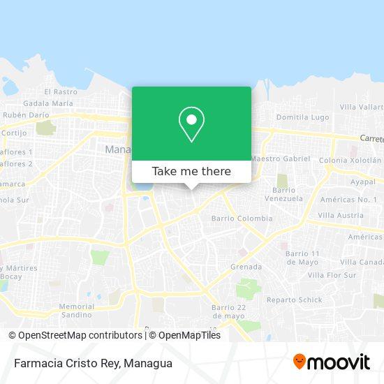 Farmacia Cristo Rey map