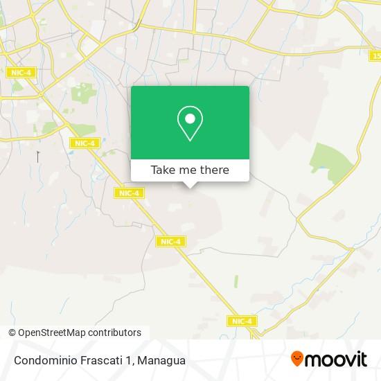 Condominio Frascati 1 map