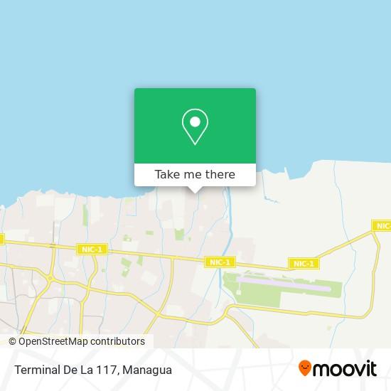 Terminal De La 117 map