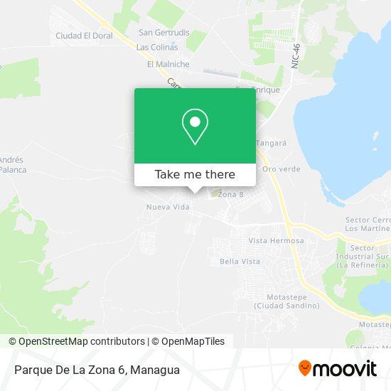 Parque De La Zona 6 map