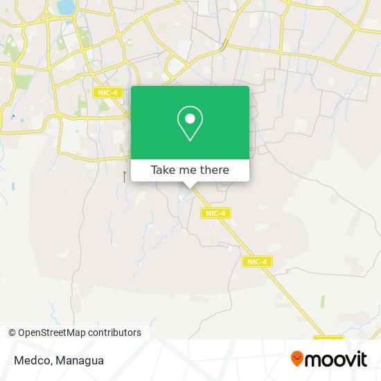 Medco map
