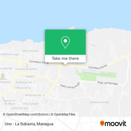 Uno - La Subasta map