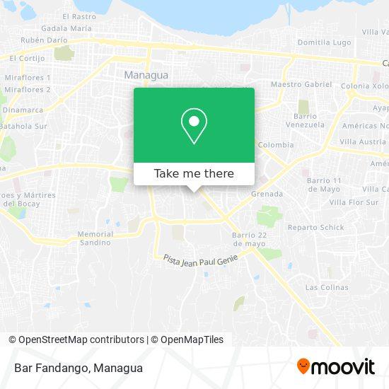 Fandango map
