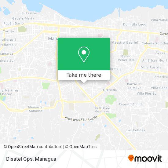 Disatel Gps map