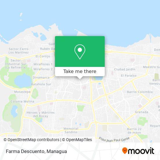 Farma Descuento map
