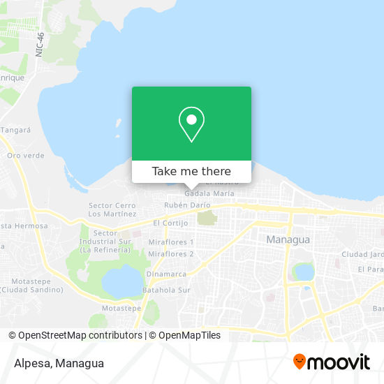 Alpesa map