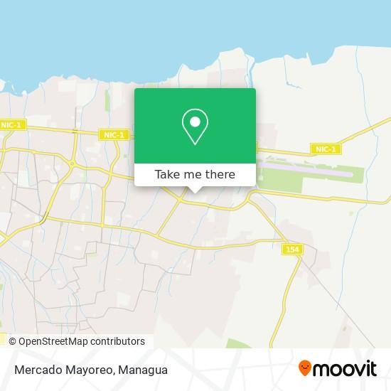 Mercado Mayoreo map