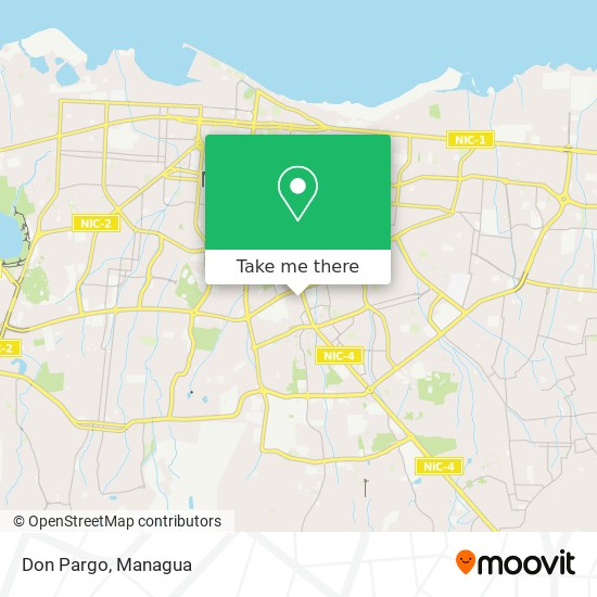 Don Pargo map