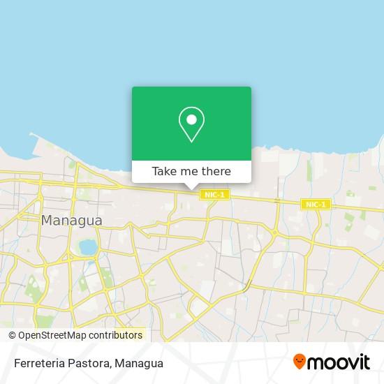 Ferreteria Pastora map
