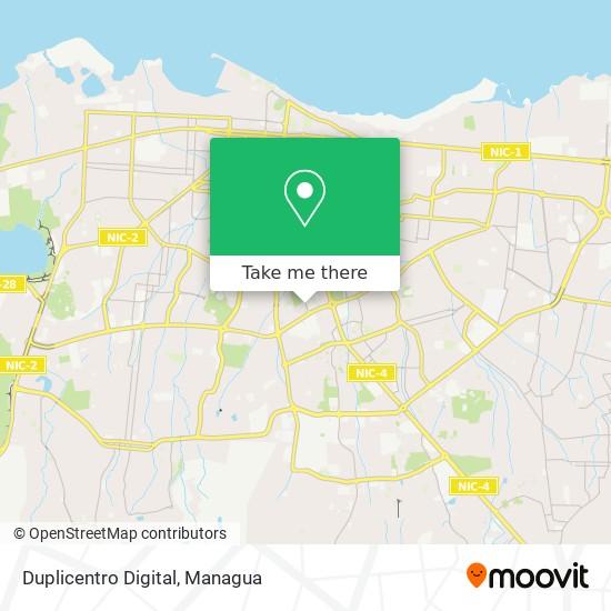 Duplicentro Digital map