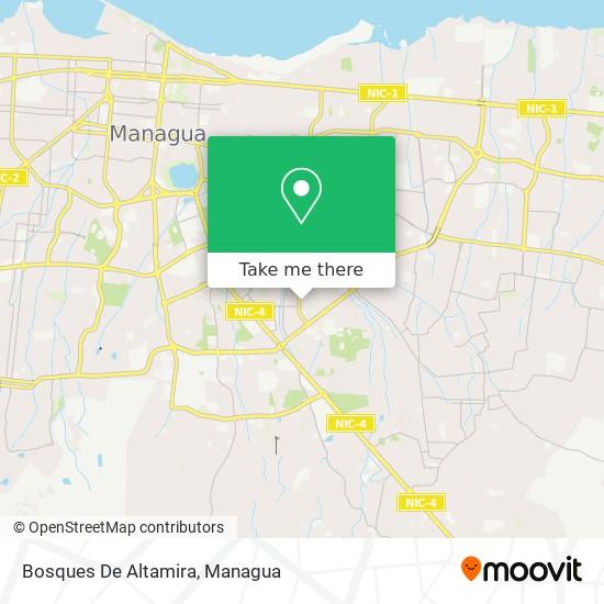 Bosques De Altamira map