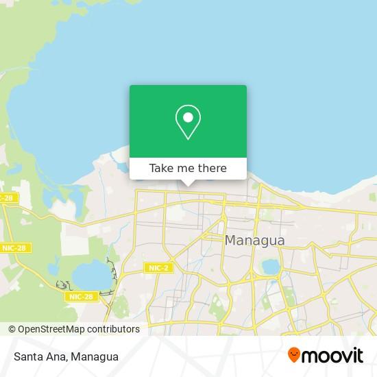 Santa Ana map