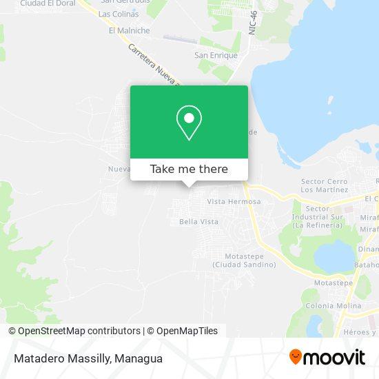 Matadero Massilly map
