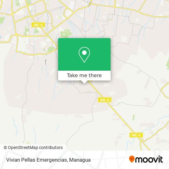 Vivian Pellas Emergencias map