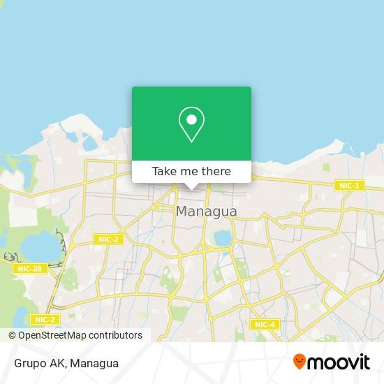 Grupo AK map