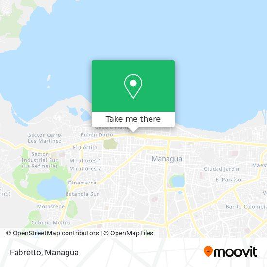 Fabretto map