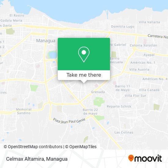 Celmax Altamira map