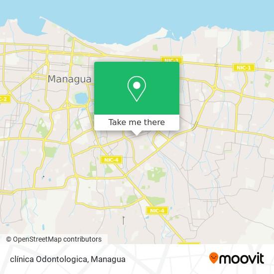clínica Odontologica map