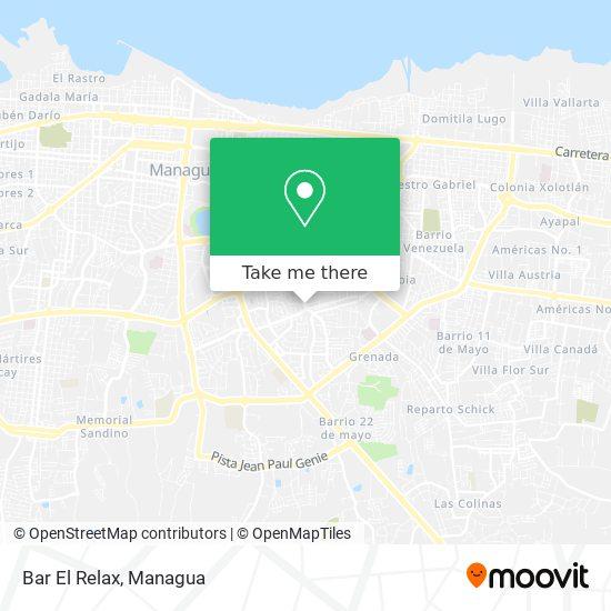 Bar El Relax map