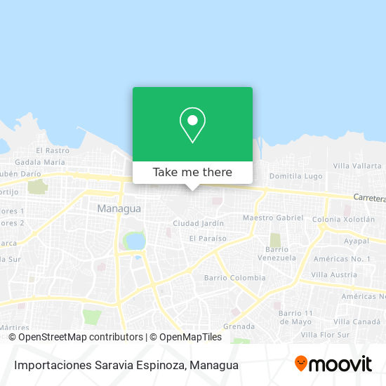 Importaciones Saravia Espinoza map