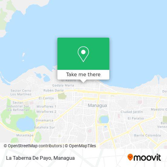 La Taberna De Payo map