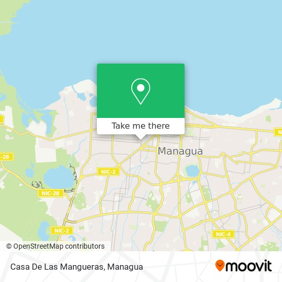 Casa De Las Mangueras map