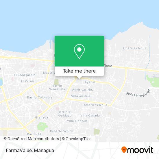 FarmaValue map