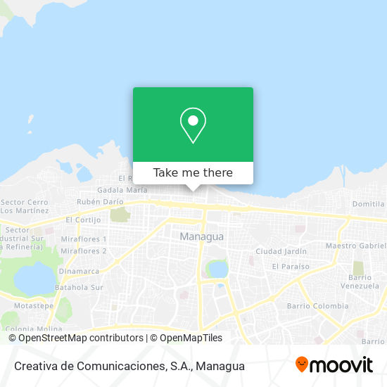 Creativa de Comunicaciones, S.A. map