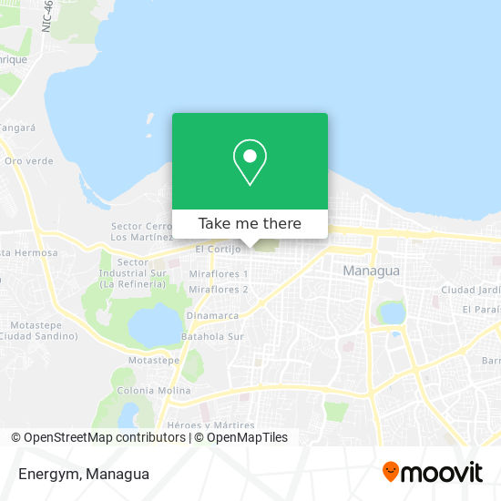 Energym map