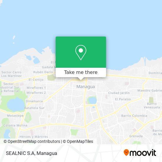 SEALNIC S.A map