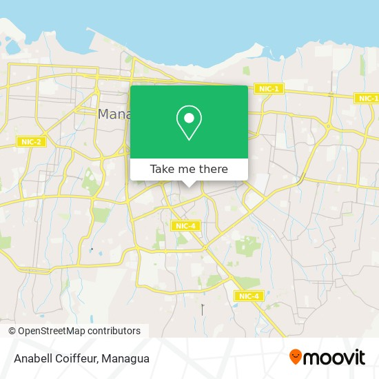 Anabell Coiffeur map