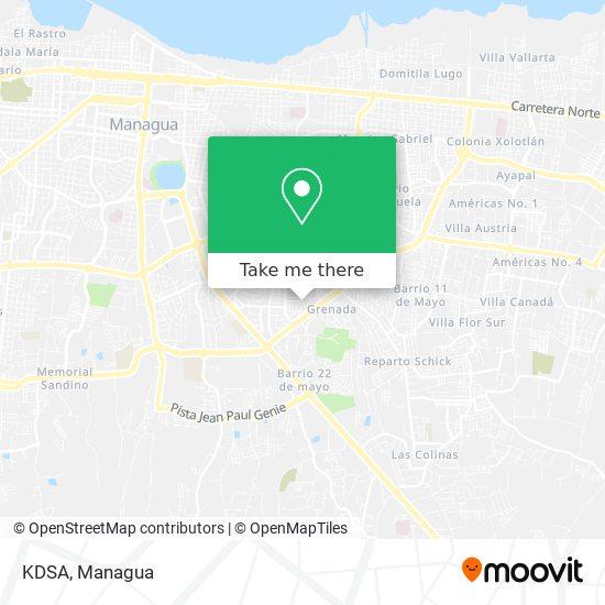 KDSA map