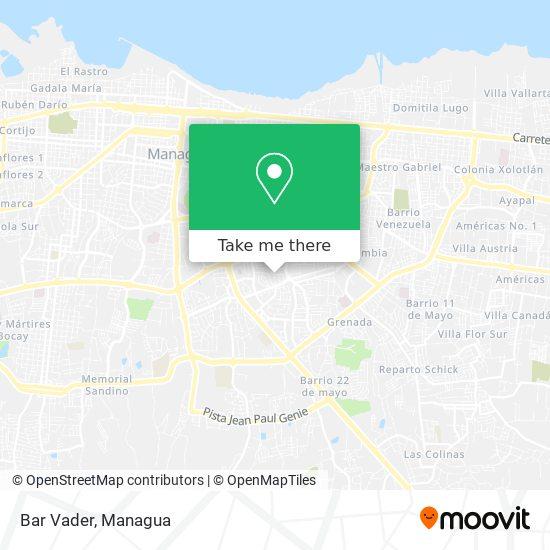 Bar Vader map
