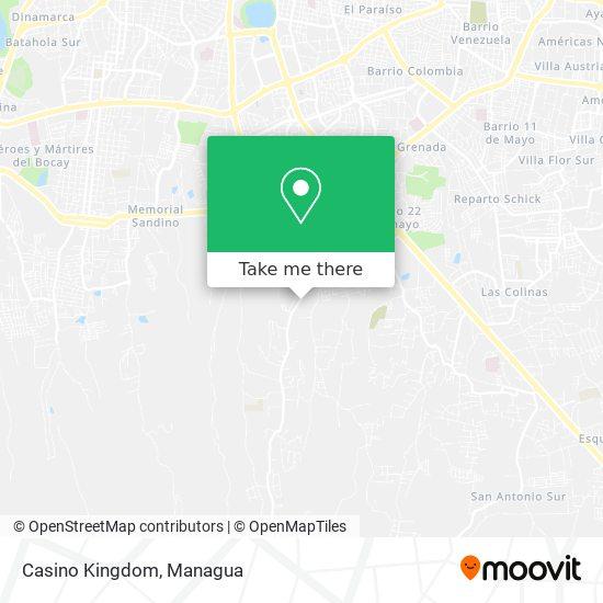 Casino Kingdom map