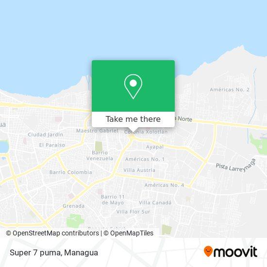Super 7 puma map