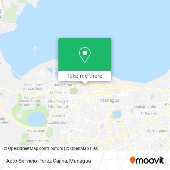 Auto Servicio Perez Cajina map