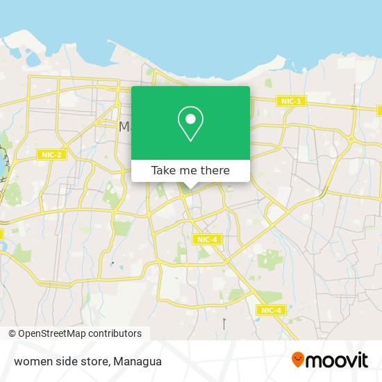 women side store map