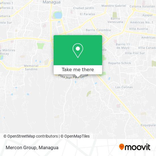 Mercon Group map