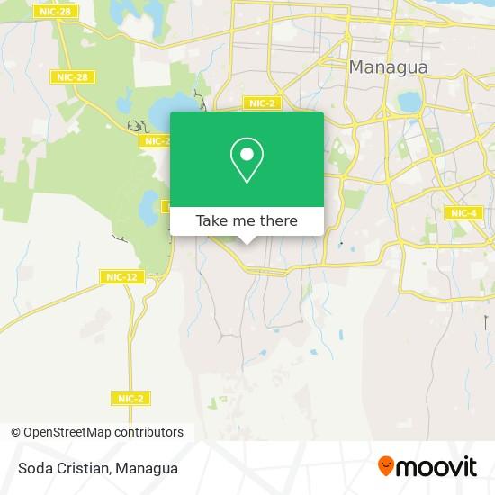 Soda Cristian map