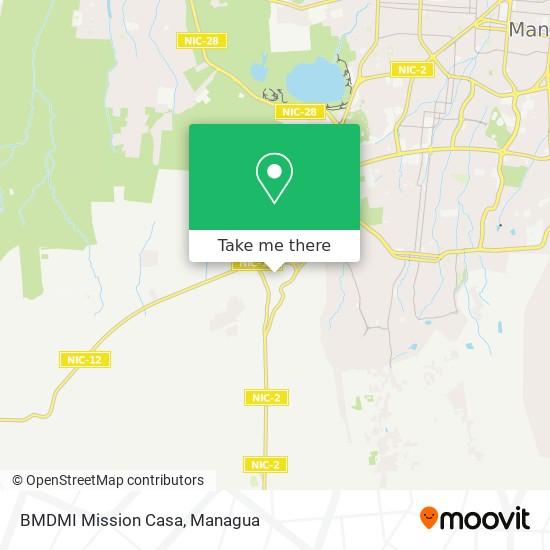 BMDMI Mission Casa map