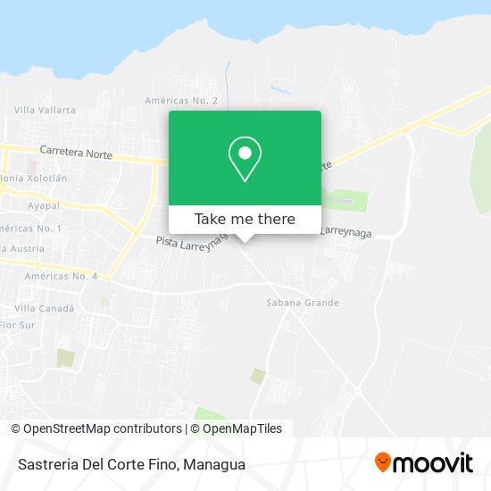 Sastreria Del Corte Fino map
