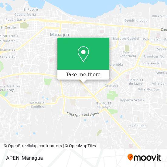 APEN map