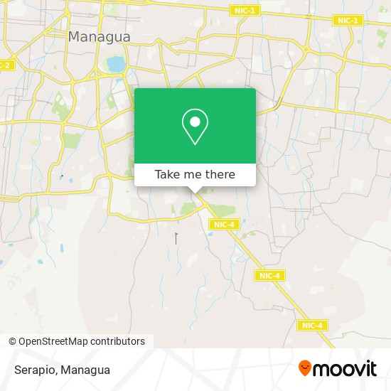 Serapio map