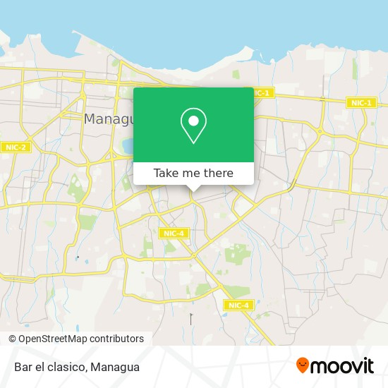 Bar el clasico map