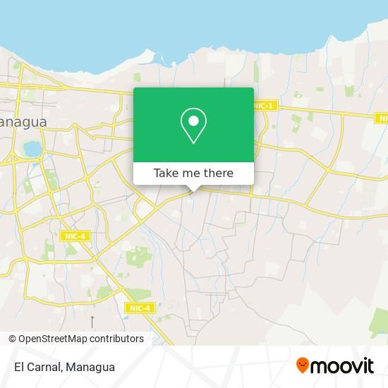 El Carnal map