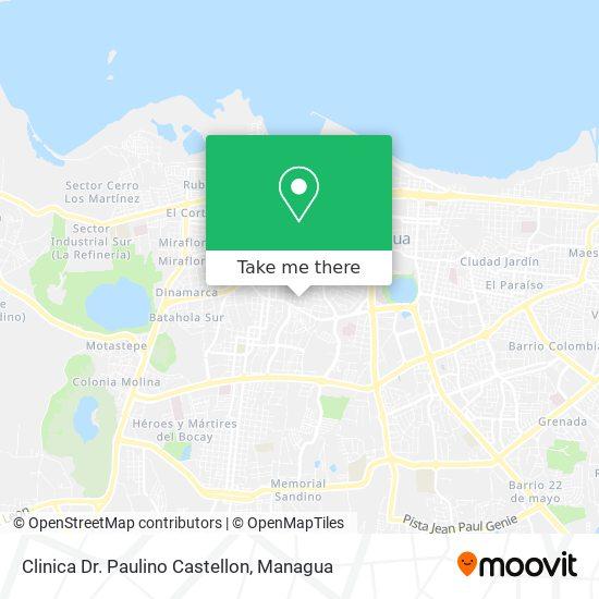 Clinica Dr. Paulino Castellon map