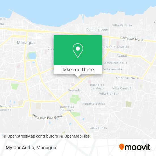 My Car Audio map